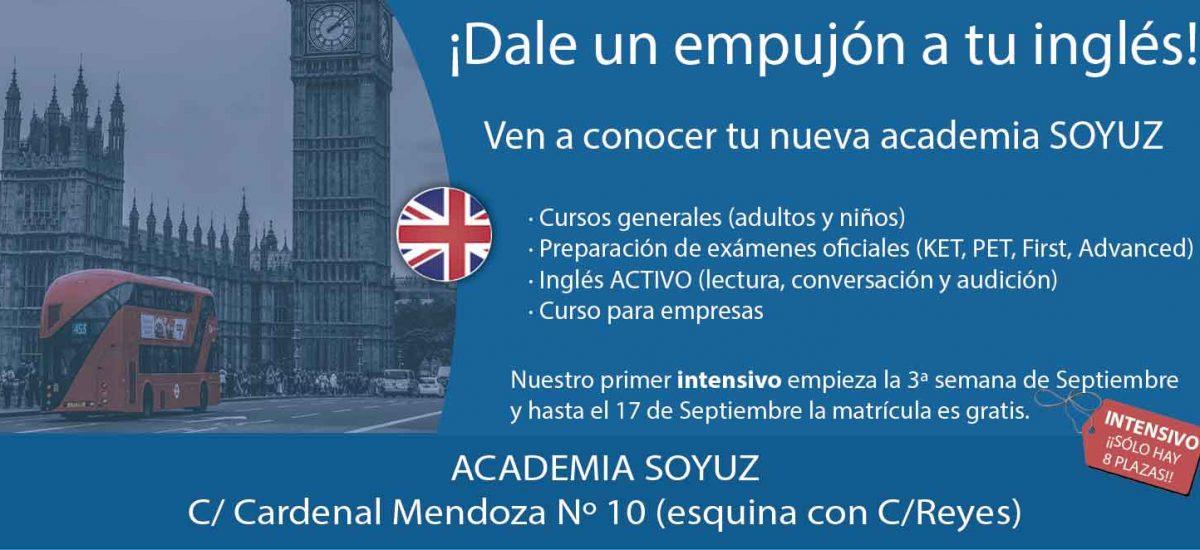 Academia de ingles y ruso en Valladolid