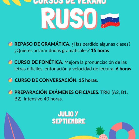 Cursos de verano RUSO